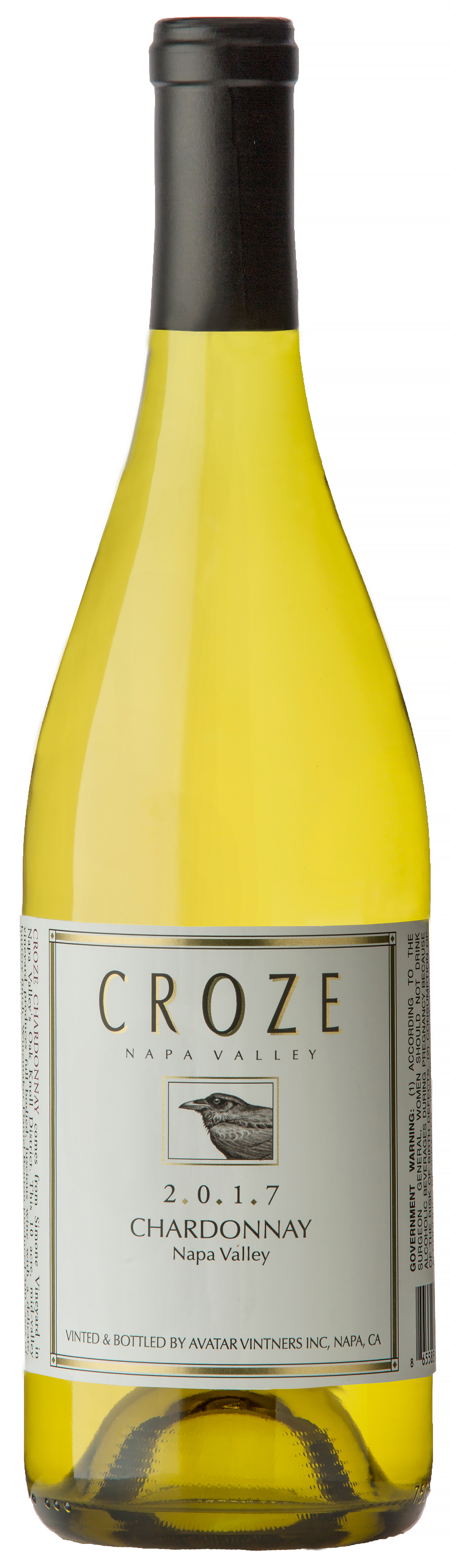 Product Image for 2017 Croze Chardonnay, Napa Valley